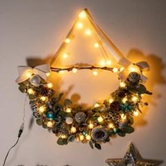 LED 티파니가렌드 70cmP 크리스마스 장식 소품 TRWGHM