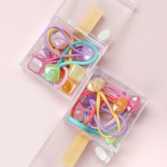 샤인방울세트 (2개세트) 유아머리끈