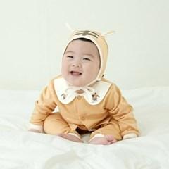 [메르베] 아기호랑이 신생아 아기내복/내의/유아실내복_사계절용