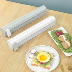 보관용 주방 비닐랩 호일 커팅기 1개 (색상선택)