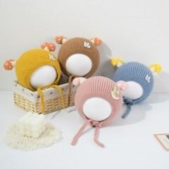 머쉬룸스트랩아기모자