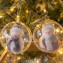 양모큐티눈사람벌룬볼 120Ø(mm)R 크리스마스 TRBALC