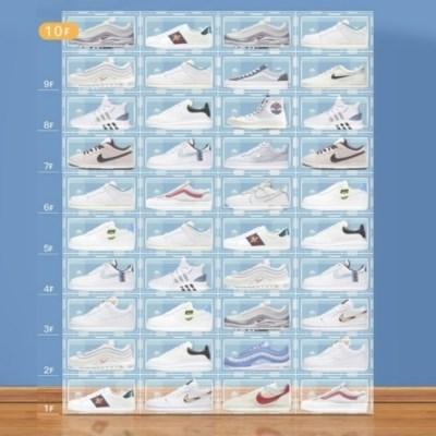 넉넉한 수납 와이드 신발 정리함