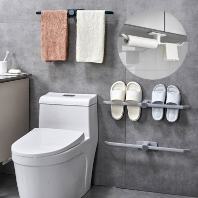 다용도 소품 멀티 걸이 주방 욕실 수건 실내화 거치대