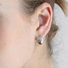 volume ring earring E035