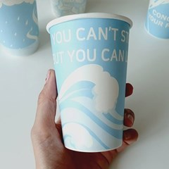 13온스 인생 메세지 디자인 컵 (12p)