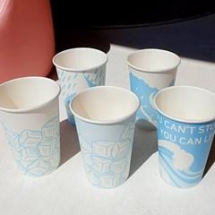 파티준비를 위한 디자인 종이컵 특가!