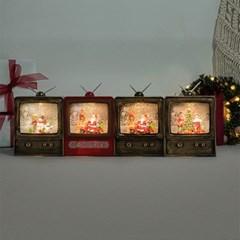 크리스마스 TV 워터볼 오르골 (4type)
