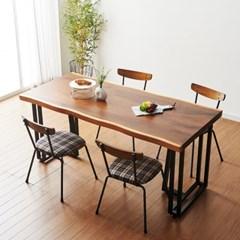 코디 1600x800 우드슬랩식탁 원목식탁 카페테이블