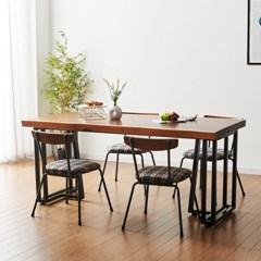 코디 1800x600 원목식탁 우드슬랩식탁 4인용식탁 식탁