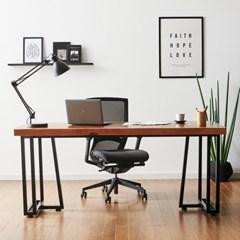 코디 2000x600 책상 2인용책상 원목책상 컴퓨터책상