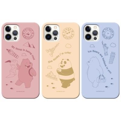 위베어베어스 트립 파스텔 슬림케이스 아이폰13 시리즈