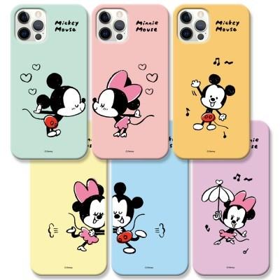 디즈니 미키 앤 미니 커플 슬림케이스 아이폰13 시리즈