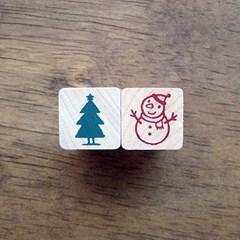 [크리스마스]미니X-Mas(눈사람&트리)