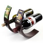 망고나무 수공예 와인홀더 1p