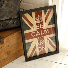 Soho KEEP CALM 포스터 - Union Jack
