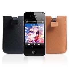 아이폰4를 위한 파우치타입 고품격 가죽케이스 WITH