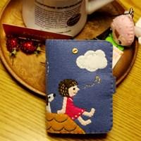 [펠트DIY] 별에게 카드지갑 만들기