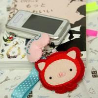 [펠트 DIY패키지] 동물원 휴대폰줄-피크 만들기