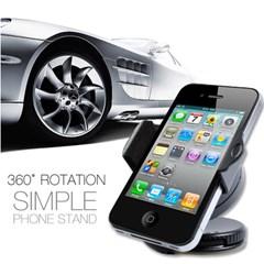 아이폰 스마트폰 차량용 SIMPLE 흡착식스탠드