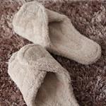 micro fiber room shoes (4 color)