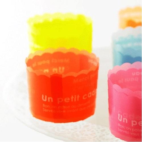 [일본직수입]칼라베이킹컵(오렌지/CK43)(no.4166)