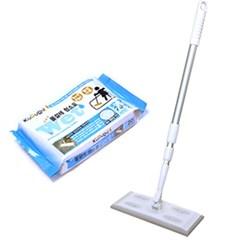 쿠루르 부직포 청소기+물걸레 청소포60매+정전기 청소포30매
