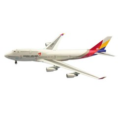 1/200 B747-400 ASIANA AIRLINES (HG363985WH)아시아나 항공 비행기