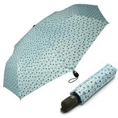 [VOGUE] 보그 3단 자동 우산(양산겸용) - 민트포푸리