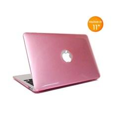 11형 MacBook Air용 Soft 크리스탈 케이스 (11.6인치, 핑크)