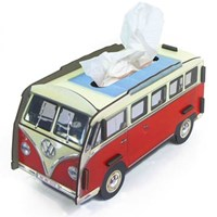 Tissue box-red bus