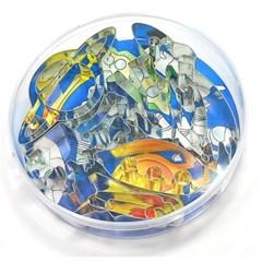쿠키커터세트(우주탐험/원형케이스) no.2990