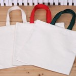 꾸미기 가방(중)-빨강초록끈