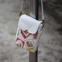 [DIY패턴] (패턴) 크로스미니백-가방만들기-올리브