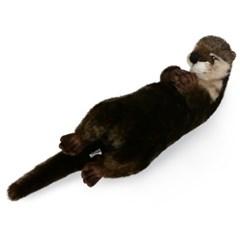 5167번 수달 Otter Resting/34cm.L