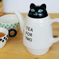 animal tea for two - cat