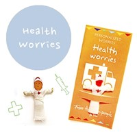 Health Worries 꼬마 전문가 걱정인형