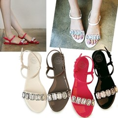Cubic jelly sandals_KM11s378