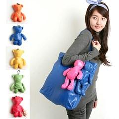 에코 곰돌이 가방 -인형속 가방 NO.0896