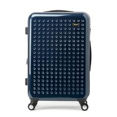 [에다스] PC 미러코팅 EP-304 25 수화물용 여행가방 마린블루