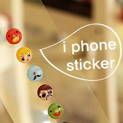 iPhone Home Button Sticker (4type)