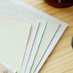 Fabric Sticker - emma stripe 01