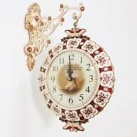 럭셔리 나비 양면시계