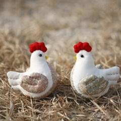 [DIY패턴] (패턴) 닭커플인형만들기-잎새커플