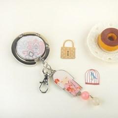 [키미돌] 가방걸이 - 풍부한 상상력의 SORA (KF0508) 소라 가방걸이