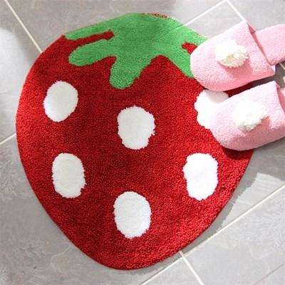 딸기 발매트