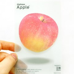 애플 접착메모지_red