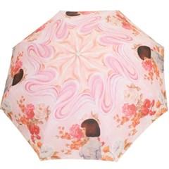 꽃과소녀 5단 우산
