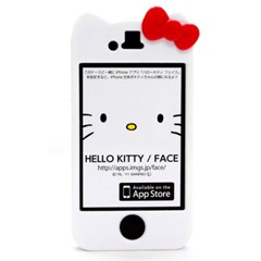 [일본정품 특가] 아이폰4 또깍이 헬로키티 하드케이스