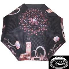 런던의야경 블랙 5단 우산